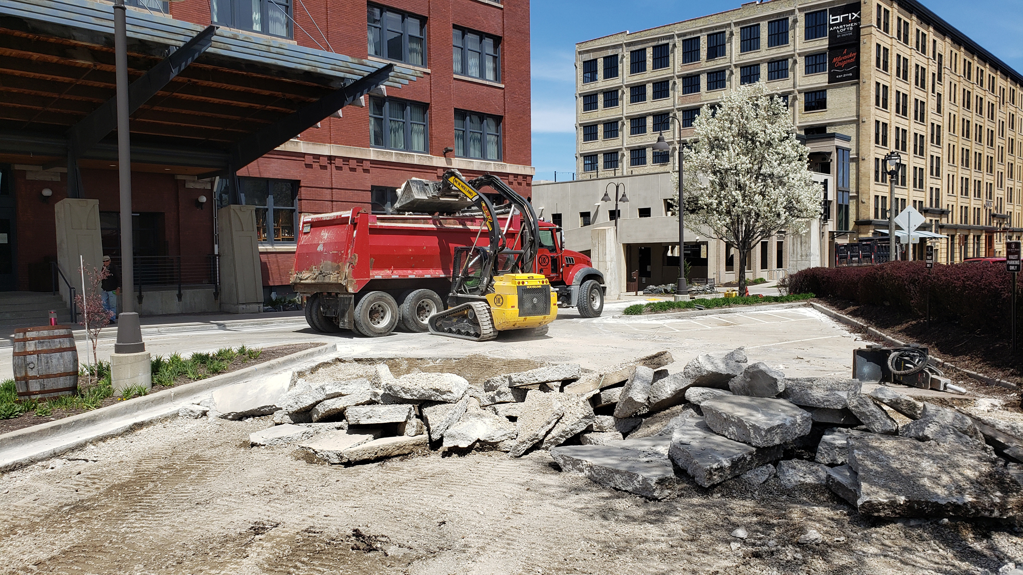 Iron Horse Hotel MKE Parking Lot Replacement