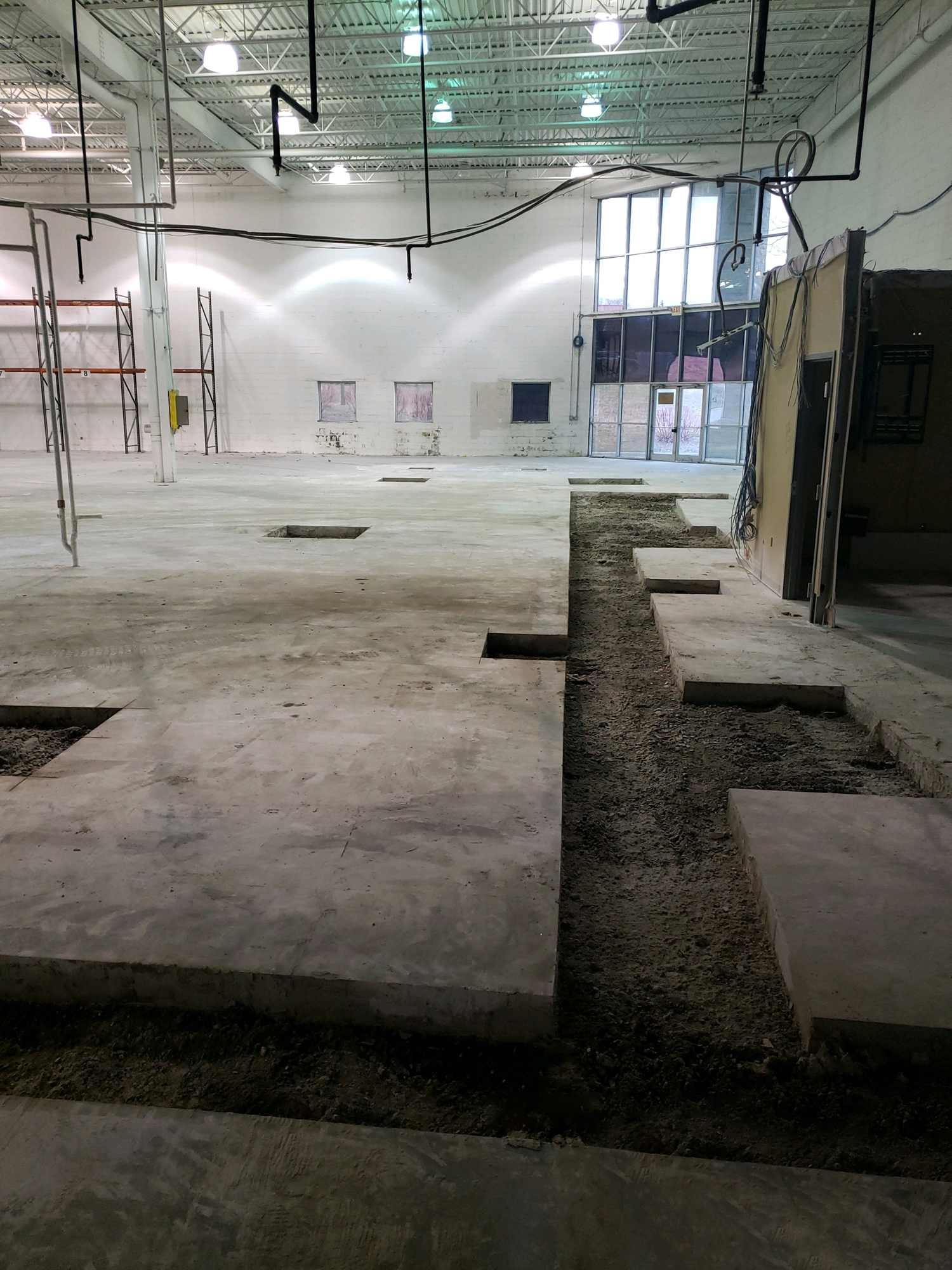 New Concrete for Factory Floor