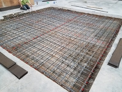 Concrete with Rebar Reinforcement