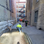 Pabst Brewery Alleyway Poured By Dornbrook Construction