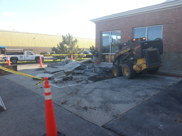 Concrete Removal for Mequon Goodyear