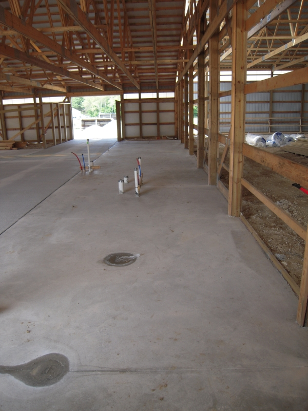 Horse Stable Concrete Installation in Menomonee Falls
