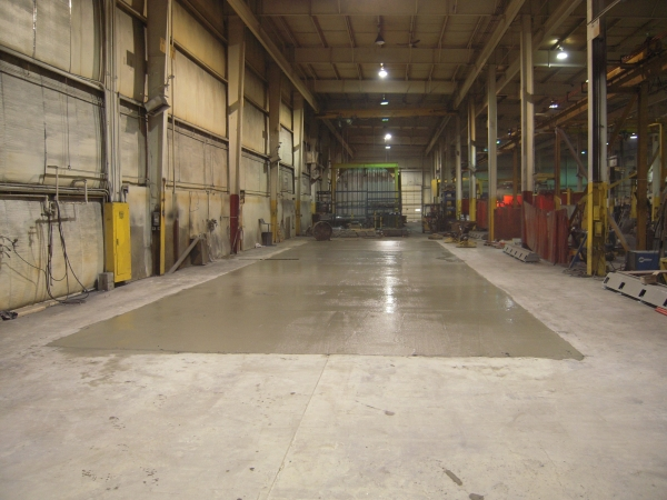 Milwaukee Commercial Concrete Floor Installation