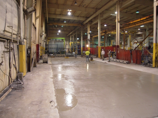 Commercial Concrete Installation Milwaukee