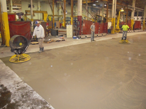 Milwaukee Concrete Machine Base Installation