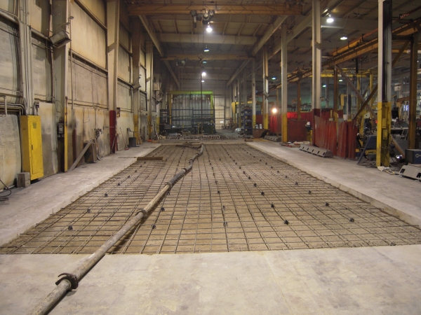 Commercial Concrete Floor Installation Milwaukee