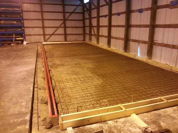 Brookfield Commercial Concrete Installation