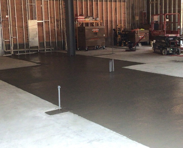 Restaurant Concrete Electrical Floor Fill-in Brookfield