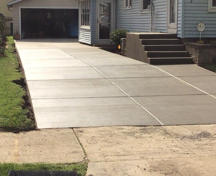 Concrete Driveway Replacement Brookfield