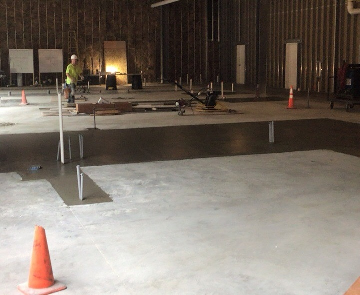 Restaurant Concrete Floor Fill-in Milwaukee